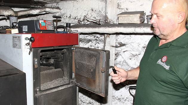Stanislav Putniorz z Těrlicka zažil nepříjemnou zkušenost s nekvalitním uhlím.