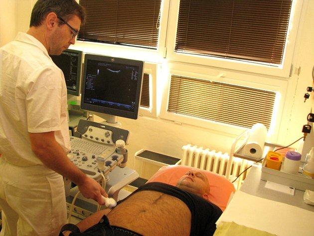 Den urologické prevence v havířovské nemocnici.