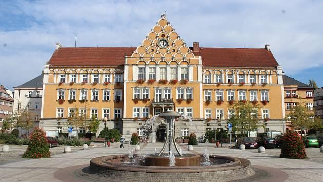 Budova radnice v Českém Těšíně