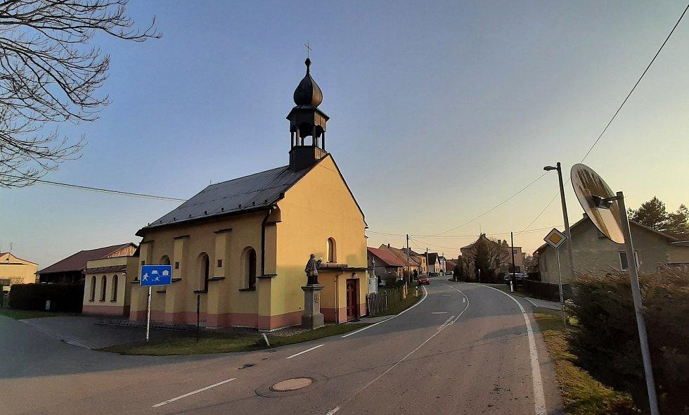 .Věřňovice, kostel