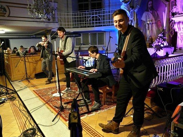 Benefiční koncert v Havířově-Bludovicích.