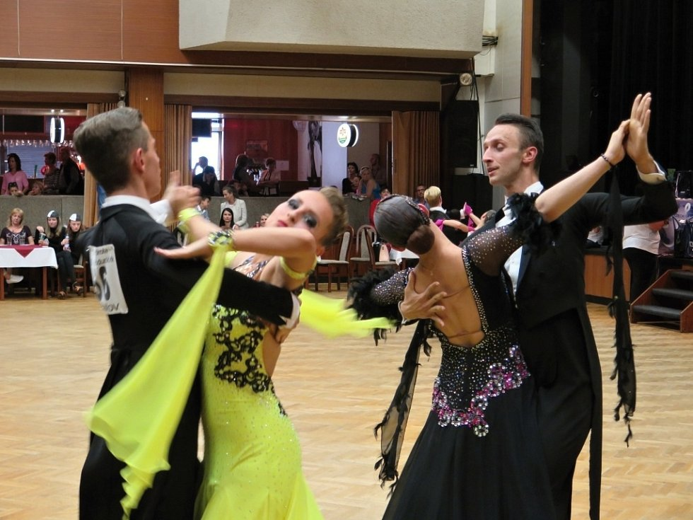 Taneční soutěž O pohár primátora města Havířova.