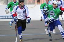 Hokejbalisté Karviné nasadili do hry několik dorostenců.