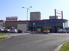 Karvinský Kaufland.