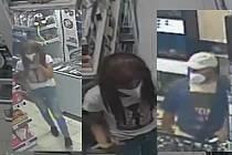 Policie hledá tuto ženu a tohoto muže.