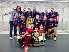 Fotbalistky Gascontrolu vyhrály Zina Cup 2018.