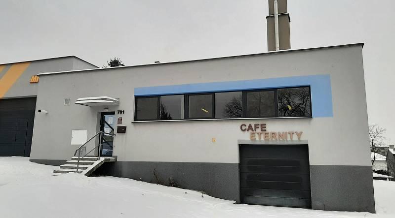 Pražírna Cafe Eternity.