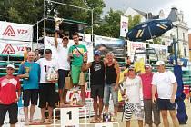 Karvinští Adam Hurta a Tadeáš Mihula vyhráli turnaj beachvolejbalistů v Uherském Hradišti.