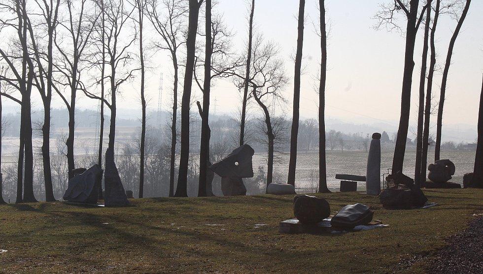 Těrlicko,  Babí hora, sochařský park.