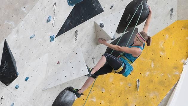 Markéta Janošová platí za velký talent českého lezení.