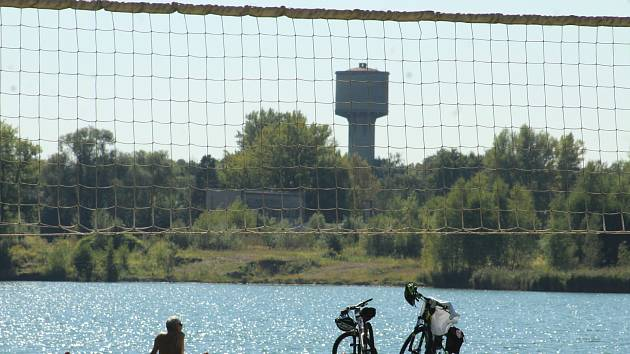Bohumín-Šunychl. Klidná městská část, kde se rozkládá i Kališovo jezero, centrum letní příměstské rekreace. Pláž u Kališova jezera.