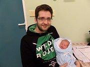Tobiáš Zientek z Českého Těšína se narodil 28. listopadu v Třinci. Po narození chlapeček vážil 3320 g a měřil 50 cm.