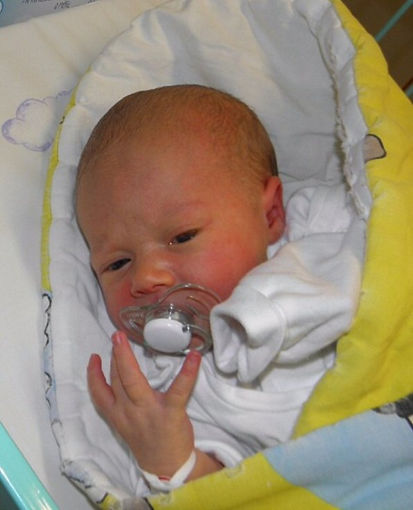 Oliver Marián Kastl se narodil 16. dubna paní Nikole Petřekové z Bohumína. Po narození chlapeček vážil 3650 g a měřil 50 cm.