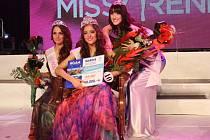 Vítězná trojice krásek 21. ročníku Miss Reneta.
