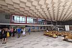 Havířovské vlakové nádraží - stará hala se bude opravovat.