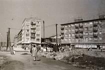 Historické fotografie zachycující výstavbu Havířova.  Foto: archiv Spolku přátel historie města Havířova