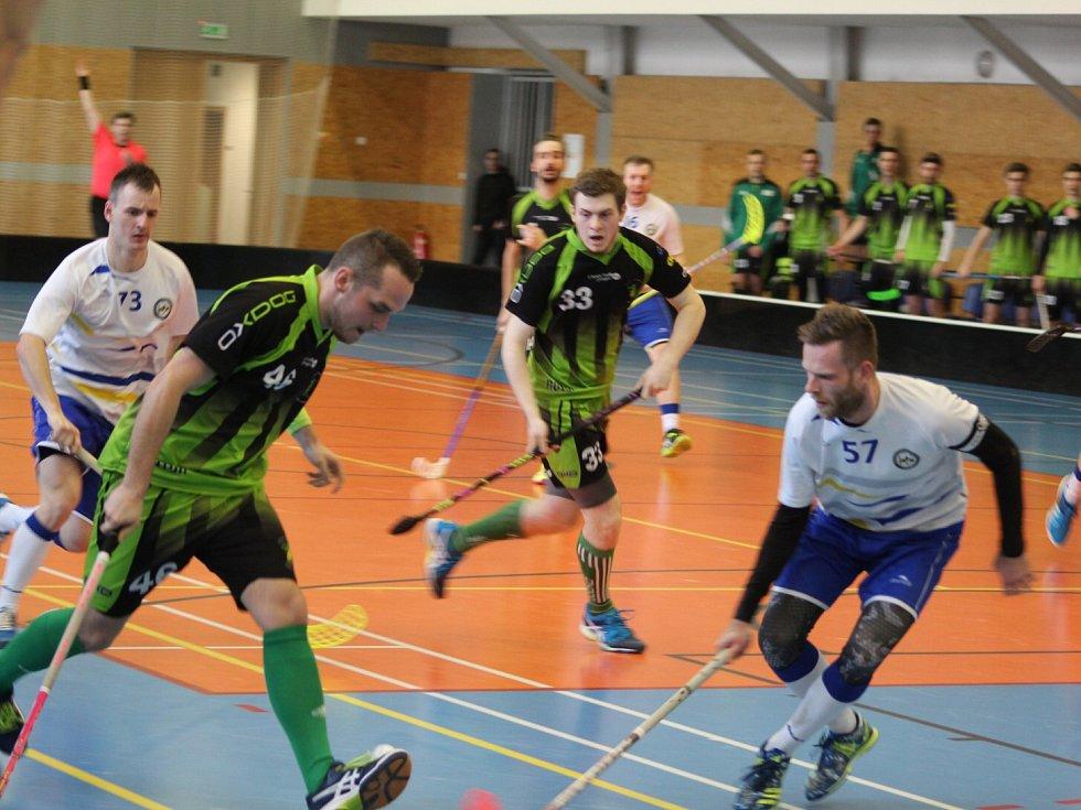 V Petrovicích se na státní svátek hraje florbalové derby.