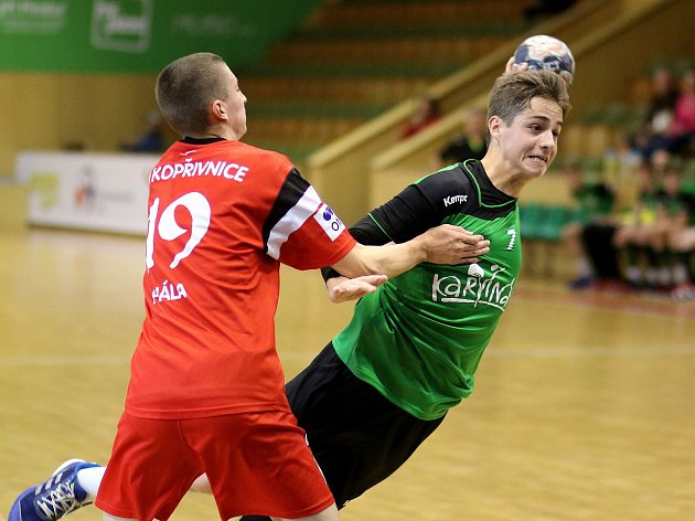 Mladí házenkáři mají za sebou osmé kolo ligové soutěže.