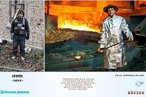 """Fotografické """"proměny"""" lidí bez domova, klientů domova Bethel, jsou fotografickým dílem Marka Kluse."""
