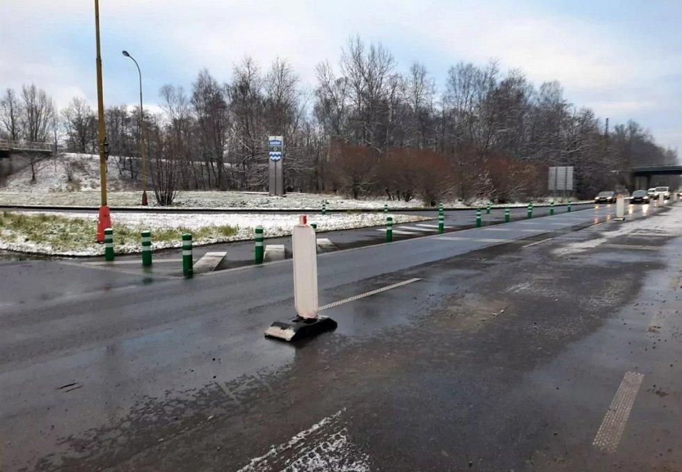 ŘSD dokončilo na okraji Havířova úpravy nebezpečné křižovatky.