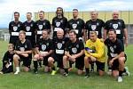Populární mužstvo fotbalových internacionálů Sigiteam.