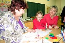 Zápis budoucích prvňáků na Základní škole Generála Svobody v Havířově-Šumbarku.