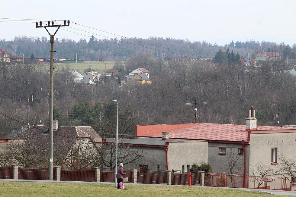Petřvald. Pohled na město.