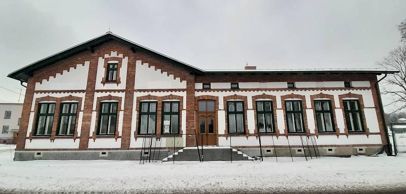 Dělnický dům v Albrechticích.