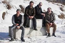 Grand Prix. To je autorská road movie, kterou chystá režisér Jan Prušinovský sKryštofem Hádkem, Robinem Ferro a Štěpánem Kozubem.