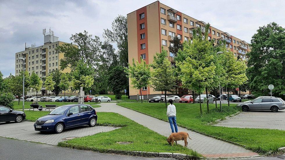 Karviná-Mizerov, sídliště.