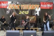 Už čtvrtý roční tradiční akce Rock Therapy proběhl v sobotu v areálu orlovského letního kina. Na charitativní akci vystoupily například kapely Ahard, Arakain nebo Witch hammer.