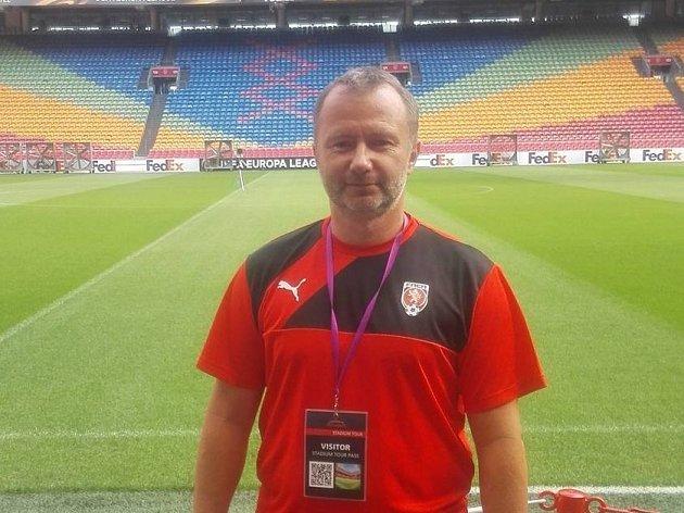 Trenér Pavel Šulák.