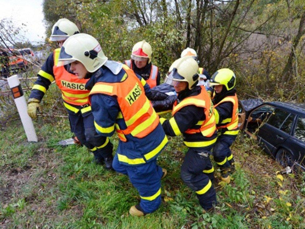 Nehoda v Bartovicích.