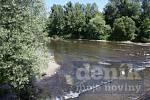 Řeka Olše - Ilustrační foto.