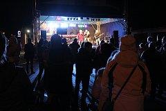 Už potřetí se poslední den starého roku konalo na bývalém hraničním přechodu Závada - Golkowice společné vítání nového roku.