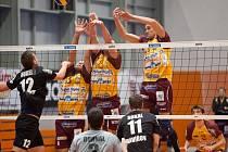 Volejbalisté Havířova pokračují v soutěži.