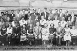 ČTVRTÁ třída, školní rok 1951/1952.