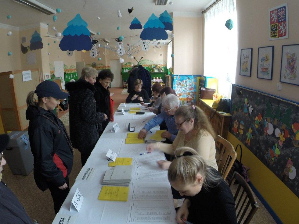 2. kolo prezidentských voleb 2018 v Havířově