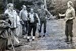 Výlet členů BSP mechanických dílen na Velkou Raču v červnu 1985.