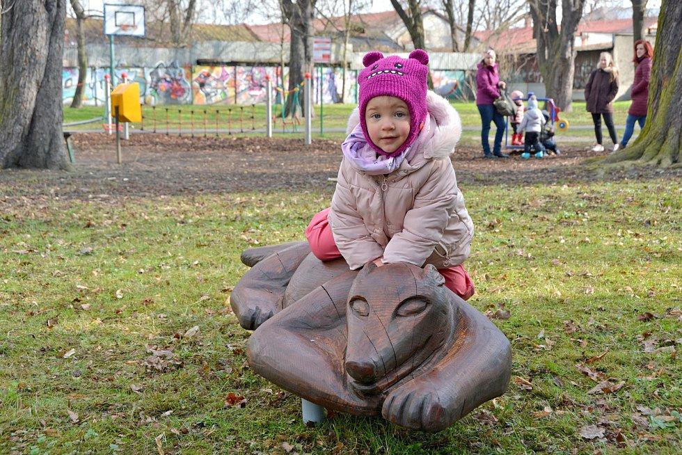 Městský park Petra Bezruče v Bohumíně se postupně mění v centrum zábavy a sportu.