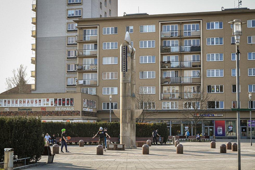 Náměstí v Havířově.
