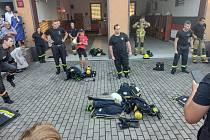 Přeshraniční spolupráce dobrovolných hasičů.