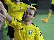 Jan Moravec už je zase součástí týmu.