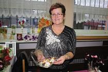 Pečení cukroví je velkou vášní paní Žyłkové.