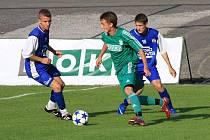 Mladí fotbalisté MFK OKD Karviná si v soutěži vedou zdatně, i když měli na víc.