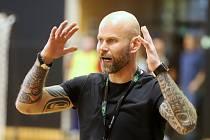 Michal Brůna s tetováním.