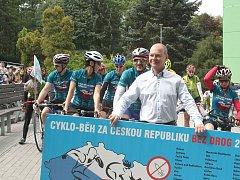 Akce na podporu boje proti drogám.