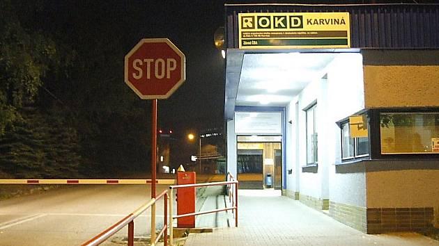 Důl ČSA v Karviné.