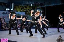 Na taneční soutěž vyrazily karvinské ženy se speciálním policejním vystoupením. Foto: archiv Femme Fatale
