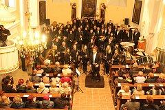Symfonický orchestr Májovák odehrál v neděli dušičkový koncert v kostele sv. Petra z Alkantary v Karviné-Dolech.